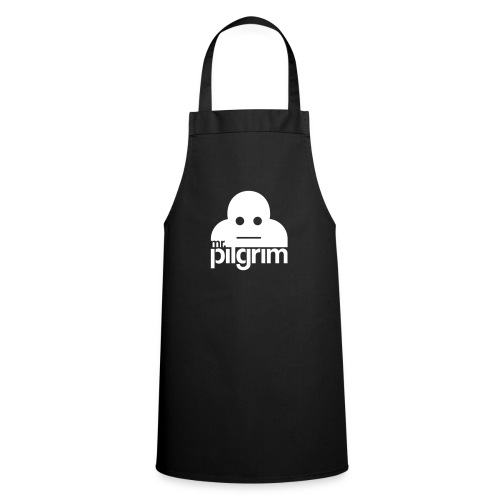 Mr Pilgrim Logo (Black) - Cooking Apron