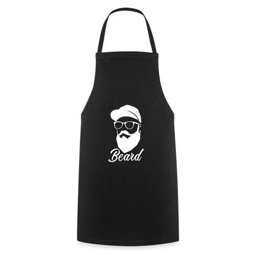 beard en blanco - Delantal de cocina