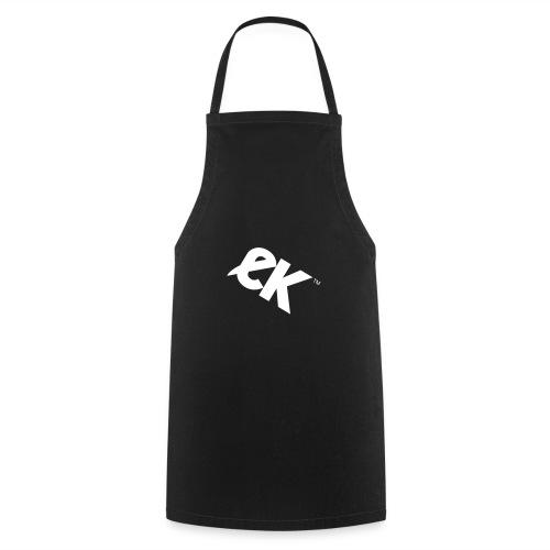 EK logo blanc # 1 - Tablier de cuisine