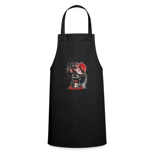 Chat bonheur - Tablier de cuisine
