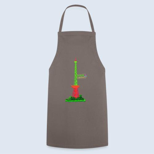 Funkturm / BerlinLightShow / PopArt Style - Kochschürze