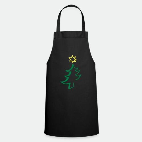 diagonal christmas tree - Cooking Apron