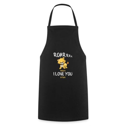 Lustiger Spruch Lion Löwe Shirt Wildkatze Geschenk - Kochschürze