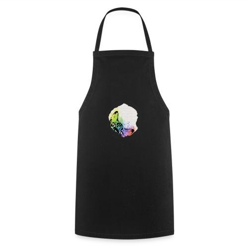 Katze Aquarell Loch - Kochschürze