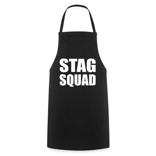 Stag Squad Bräutigam Junggesellenabschied - Kochschürze
