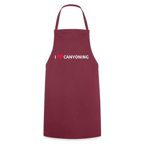 I Love Canyoning - Kochschürze