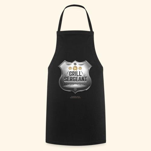 Grill Sergeant Abzeichen für Griller - Kochschürze