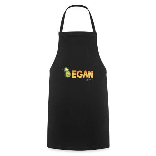 Vegan Avocado Gemüse fleischlose Ernährung - Kochschürze