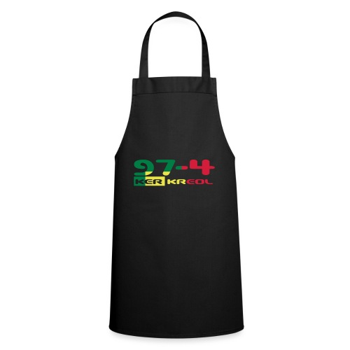 Logo 974 ker kreol VJR, rastafari - Tablier de cuisine