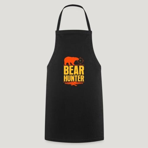 Jäger Shirt Bären Jäger - Bear Hunter Jagd Wild - Kochschürze