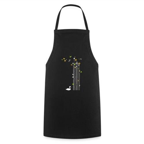 Frühling Schwan Blüten Schmetterlinge Valentinstag - Cooking Apron