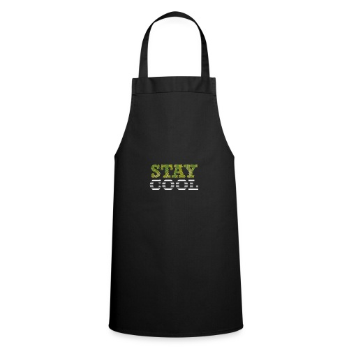 STAY COOL tshirt - Cooking Apron