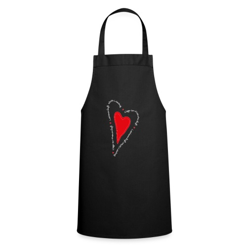 Ullihunde- Herz - Kochschürze