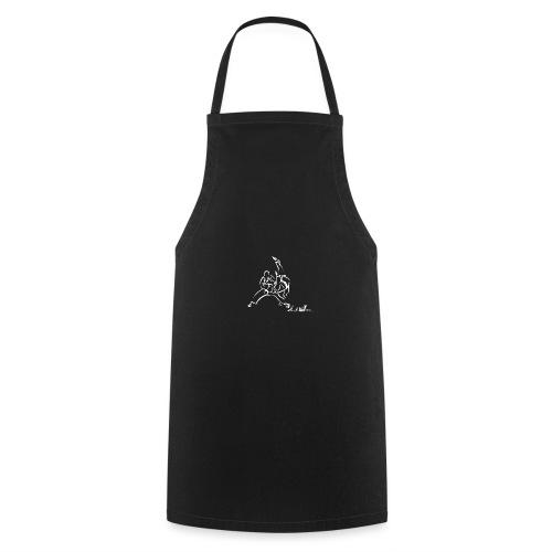 TAI OTOSHI BIANCO - Grembiule da cucina