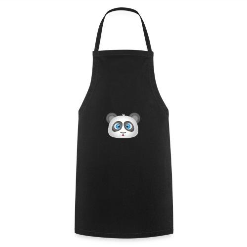 panda head / cabeza de panda 2 - Delantal de cocina