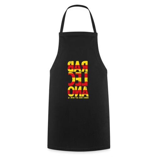 Barcelona (flagcolor oldstyle) - Kochschürze