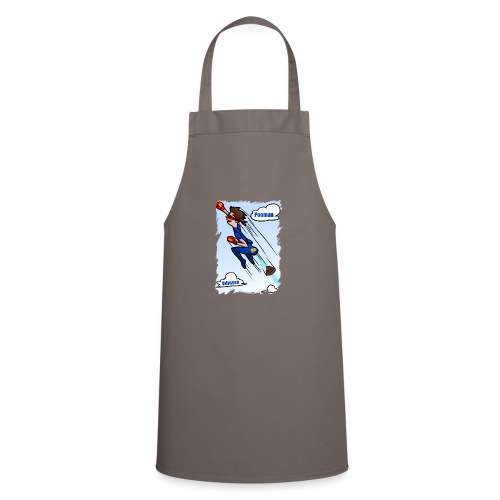 Superhero Pooman - Cooking Apron
