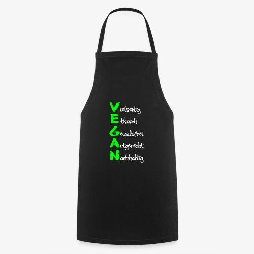 Vegan - Kochschürze