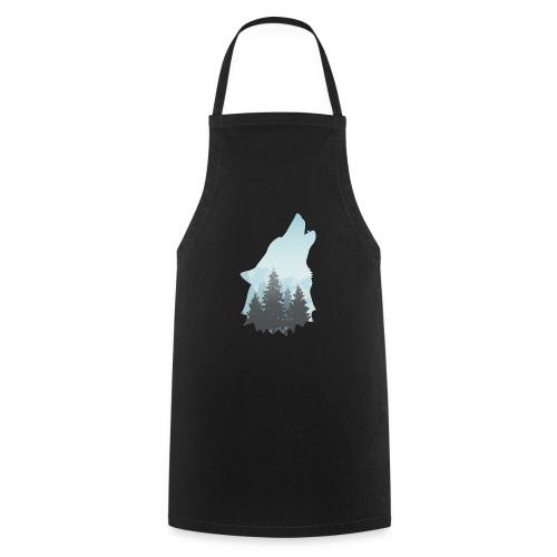 Heulender Wolf - Kochschürze