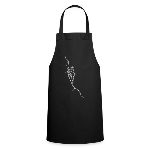 Kletter-Girl, weiß, 3 - Kochschürze