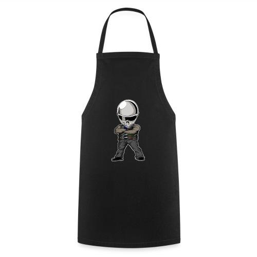 Böser Streetfighter - Kochschürze