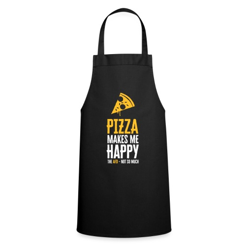 PIZZA MAKES ME HAPPY - Kochschürze