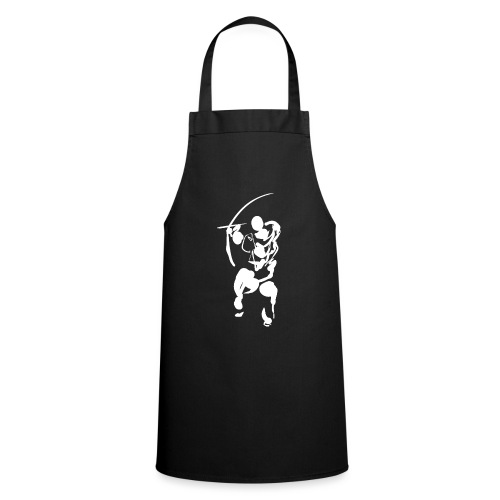 Path of the bow (white) - Cooking Apron