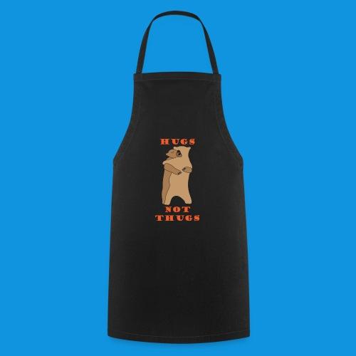 Hugs Not Thugs.png - Cooking Apron