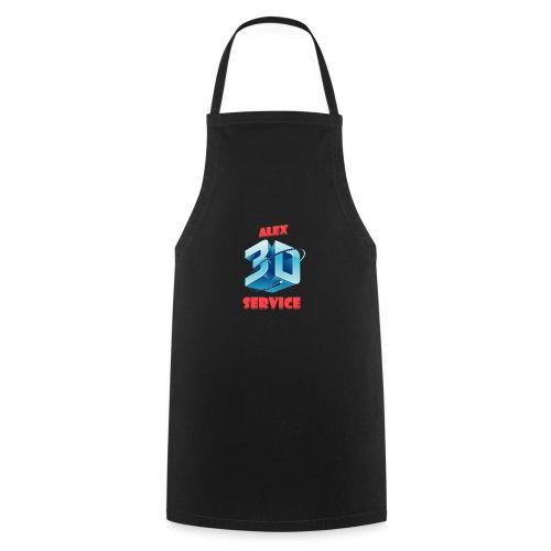 logo emporesa de impresion 3d en albacete - Delantal de cocina