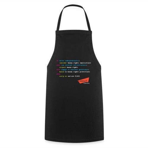 if elif else (black) - Cooking Apron