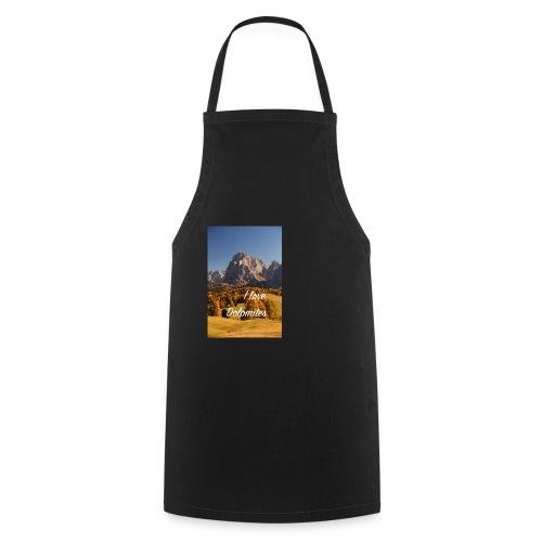 Langkofel - Wahrzeichen Südtirols - Kochschürze