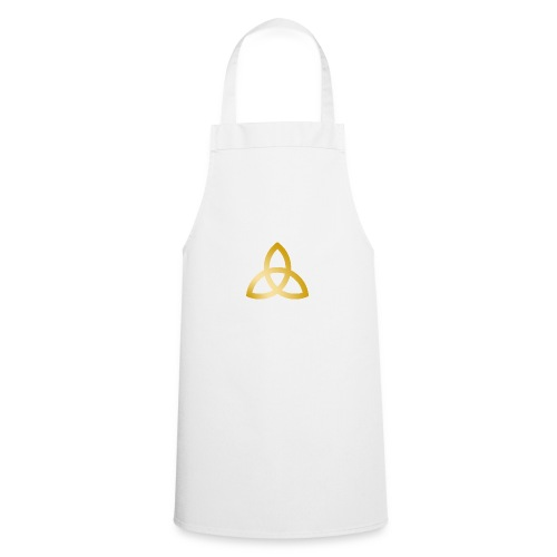 Goldene Triquetra - Kochschürze