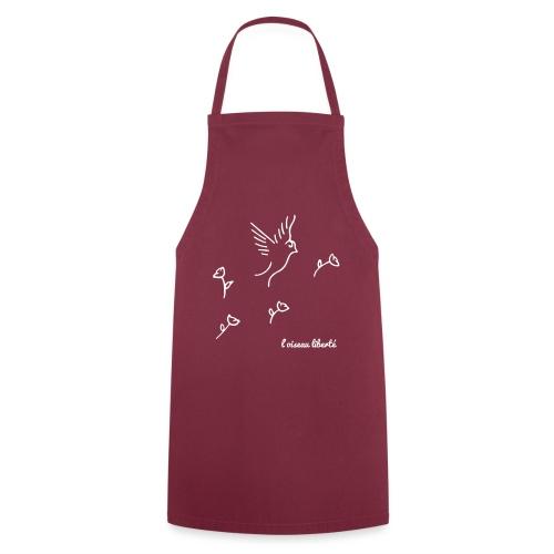 L'oiseau liberté (version light) - Tablier de cuisine
