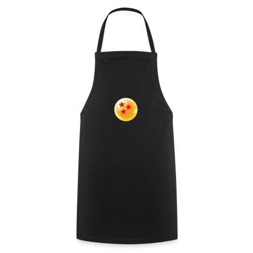 3 Estrellas Bola dragón - Delantal de cocina