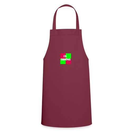 CB Gaming Blue with Red text - Cooking Apron