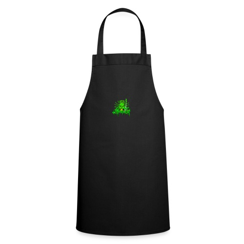 GFSkullOnlyColorShirt - Cooking Apron