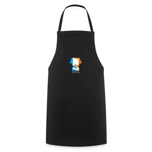 Logo CIFTA final letra gris50 - Delantal de cocina