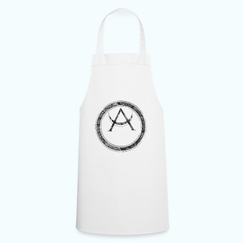 Mystic motif with sun and circle geometric - Cooking Apron