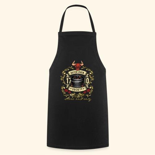 Grill-T-Shirt Dutch Oven Society - Geschenkidee! - Kochschürze