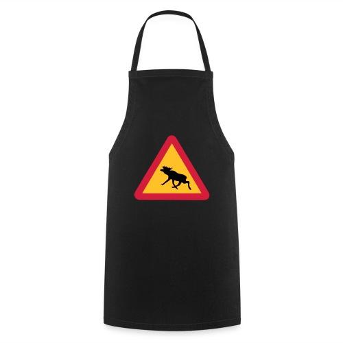 Warnung Elch! Älg! Moose! Schweden Sweden (vektor) - Kochschürze