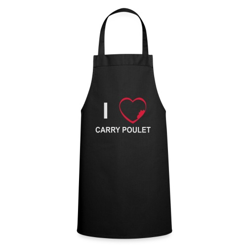 i love CARRY POULET - Tablier de cuisine