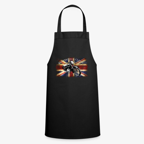 Vintage famous Brittish BSA motorcycle icon - Cooking Apron