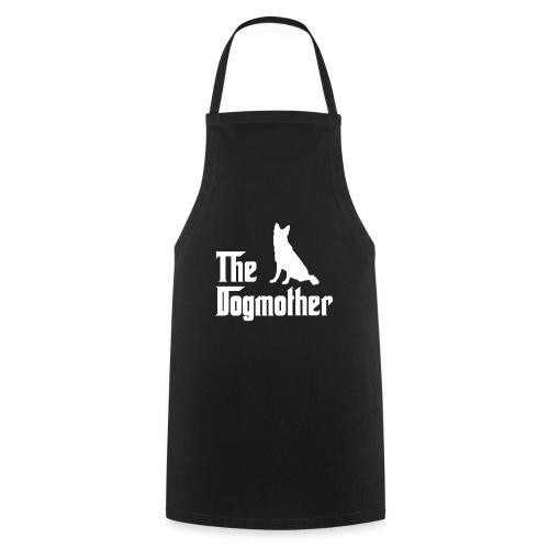 Dogmother Schäferhund weiss - Kochschürze