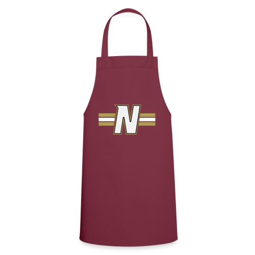 White N with stripes - Cooking Apron