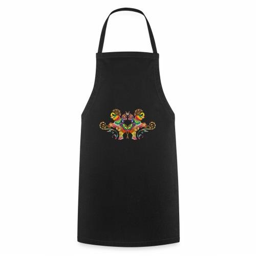 elefantes mandala - Delantal de cocina