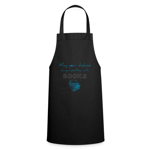 0039 Full bookshelves are a dream | Read - Cooking Apron