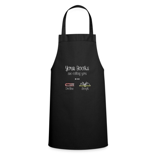 0141 Your books are calling you. - Cooking Apron