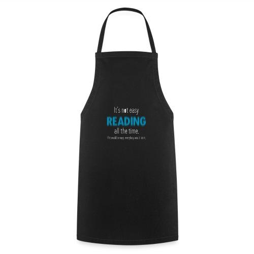 0153 Always Reading | Book | Bookrebels | reader - Cooking Apron