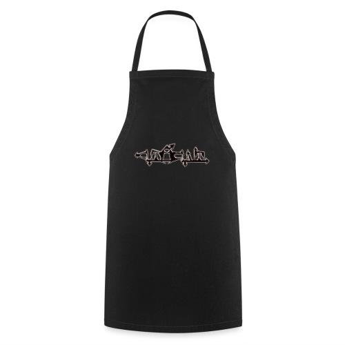 Cutacult Alienschrift - Kochschürze