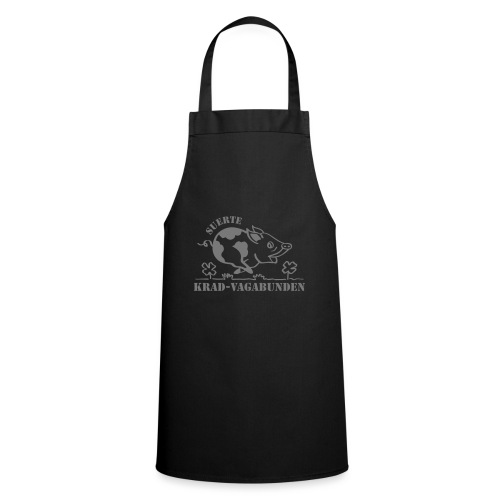Krad-Vagabunden Glücksschwein V2 - Kochschürze